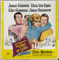 """Movie Posters:Comedy, The Art of Love & Other (Universal, 1965). Six Sheet (81"""" X 81"""") and One Sheet (27"""" X 41""""). Comedy.. ... (Total: 2 Items)"""
