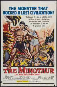 "The Minotaur & Other Lot (United Artists, 1961). One Sheets (2) (27"" X 41""). Adventure. ... (Total: 2 Item..."