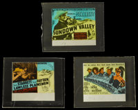 """The Desperadoes and Others Lot (Columbia, 1943). Glass Slides (3) (2.5"""" X 3"""" without original holders). Wester..."""