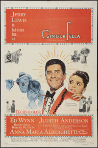 """Cinderfella & Other Lot (Paramount, 1960). One Sheets (2) (27"""" X 41""""). Comedy. ... (Total: 2 Items)"""