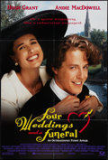 """Movie Posters:Comedy, Four Weddings and a Funeral & Others Lot (Gramercy, 1994). One Sheets (3) (27"""" X 40"""" & 26.75"""" X 39.75""""). DS, SS, Regular and... (Total: 3 Items)"""