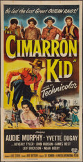 "Movie Posters:Western, The Cimarron Kid (Universal International, 1952). Three Sheet (41"" X 81""). Western.. ..."