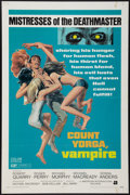 "Movie Posters:Horror, Count Yorga, Vampire (American International, 1970). One Sheet (27"" X 41""). Horror.. ..."