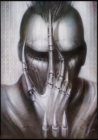 "Future-Kill (International Film Marketing, 1985). Numbered and Signed H.R. Giger Lithograph Poster (26"" X 37"")..."
