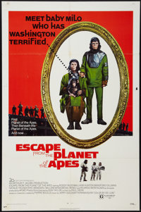 "Escape from the Planet of the Apes (20th Century Fox, 1971). One Sheet (27"" X 41""). Science Fiction"