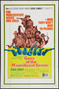 "Movie Posters:Western, Guns of the Magnificent Seven & Other Lot (United Artists, 1969). One Sheets (2) (27"" X 41""). Western.. ... (Total: 2 Items)"