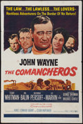 "Movie Posters:Western, The Comancheros (20th Century Fox, 1961). One Sheet (27"" X 41""). Western.. ..."