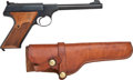 Handguns:Semiautomatic Pistol, Colt Woodsman Third Series Semi-Automatic Pistol with Holster....