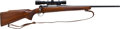 Long Guns:Bolt Action, .243 Winchester M70 Bolt Action Rifle with Telescopic Sight....