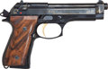 Handguns:Semiautomatic Pistol, Beretta Model 92FEL 9mm Deluxe Gold Engraved Semi-Automatic Pistol....