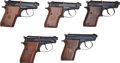 Handguns:Semiautomatic Pistol, Lot of Five Beretta Model 21AW Bobcat Semi-Automatic Pistols....
