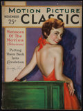 "Movie Posters:Miscellaneous, Motion Picture Classic (Motion Picture Publications, November, 1930). Magazine (Multiple Pages, 8""75"" X 11.5"")Miscellaneous...."