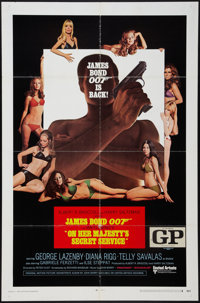 "On Her Majesty's Secret Service (United Artists, 1970). One Sheet (27"" X 41"") Style A. James Bond"