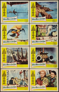 "The Fabulous World of Jules Verne (Warner Brothers, 1961). Lobby Card Set of 8 (11"" X 14""). Fantasy. ... (Tota..."