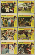 "Movie Posters:Western, Shenandoah (Universal, 1965). Lobby Card Set of 8 (11"" X 14""). Western.. ... (Total: 8 Items)"