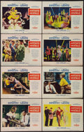 """Movie Posters:Comedy, Artists and Models (Paramount, 1955). Lobby Card Set of 8 (11"""" X 14""""). Comedy.. ... (Total: 8 Items)"""
