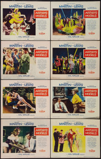 """Artists and Models (Paramount, 1955). Lobby Card Set of 8 (11"""" X 14""""). Comedy. ... (Total: 8 Items)"""