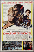 "Movie Posters:Drama, Doctor Zhivago (MGM, 1965). One Sheet (27"" X 41"") Academy Awards w Maruce Jarre Credits Style. Drama.. ..."
