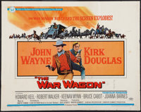 "The War Wagon (Universal, 1967). Half Sheet (22"" X 28""). Western"