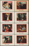"Movie Posters:Drama, East of Eden (Warner Brothers, 1955). Lobby Card Set of 8 (11"" X14""). Drama.. ... (Total: 8 Items)"