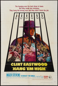 "Hang 'Em High (United Artists, 1968). One Sheet (27"" X 41""). Western"