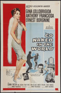"Movie Posters:Drama, Go Naked in the World (MGM, 1961). One Sheet (27"" X 41""). Drama.. ..."
