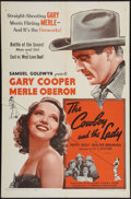 """Movie Posters:Romance, The Cowboy and the Lady (Samuel Goldwyn, R-1954). One Sheet (27"""" X 41""""). Romance.. ..."""