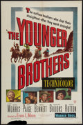 "Movie Posters:Western, The Younger Brothers and Other Lot (Warner Brothers, 1949). One Sheets (2) (27"" X 41""). Western.. ... (Total: 2 Items)"