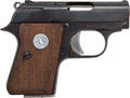 Handguns:Derringer, Palm, Colt Junior Semi-Automatic Pocket Pistol....