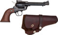 Handguns:Semiautomatic Pistol, Sturm-Ruger Model Single-Six Single Action Revolver with Holster....