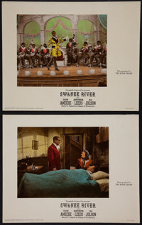 """Swanee River (20th Century Fox, 1939). Deluxe Color-Glos Lobby Card Set of 8 (11"""" X 14""""). Musical. ... (Total:..."""