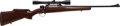 Long Guns:Bolt Action, Sporterized Mauser Model 98K Bolt Action Rifle with Telescopic Sight....