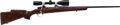 Long Guns:Bolt Action, Custom Mauser Model 98 Bolt Action Rifle with Telescopic Sight....