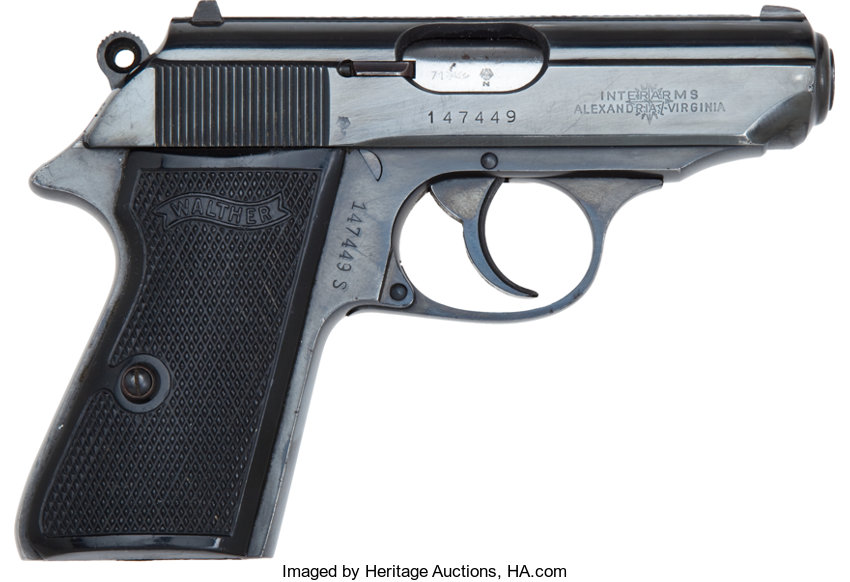 Walther PPK/S Semi-Automatic Pistol     Handguns