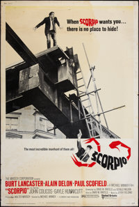"Scorpio and Others Lot (United Artists, 1973). Posters (9) (40"" X 60"") A and B Styles. Thriller. ... (Total: 9..."