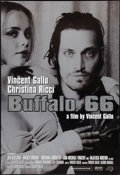 "Movie Posters:Comedy, Buffalo 66 (Lions Gate, 1998). Special Silver Glitter One Sheet (27"" X 40""). Comedy.. ..."