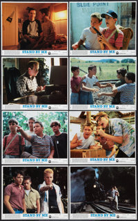 "Stand By Me (Columbia, 1986). Mini Lobby Card Set of 8 (8"" X 10""). Adventure. ... (Total: 8 Items)"