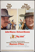 "Movie Posters:Western, Big Jake (National General, 1971). Poster (40"" X 60""). Western.. ..."