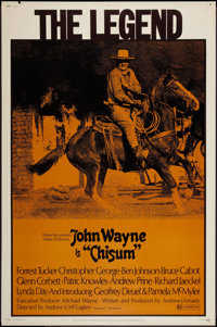 "Chisum (Warner Brothers, 1970). Poster (40"" X 60""). Western"