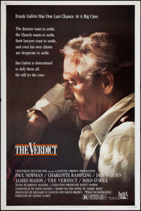 "The Verdict (20th Century Fox, 1982). Poster (40"" X 60""). Drama"