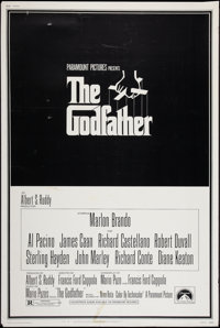 """The Godfather (Paramount, 1972). Poster (40"""" X 60""""). Crime"""