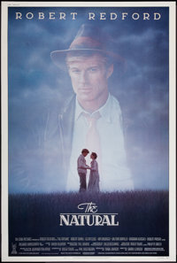 "The Natural (Tri-Star, 1984). Poster (40"" X 60""). Sports"