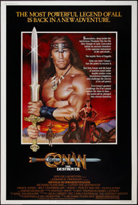 "Conan the Destroyer (Universal, 1984). Poster (40"" X 60""). Action"