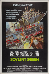 """Soylent Green (MGM, 1973). Poster (40"""" X 60""""). Science Fiction"""