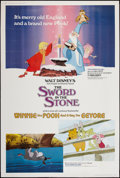 "Movie Posters:Animated, The Sword in the Stone (Buena Vista, R-1983). Poster (40"" X 60""). Animated.. ..."