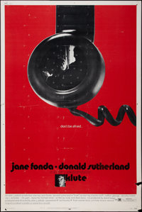 """Klute (Warner Brothers, 1971). Poster (40"""" X 60""""). Thriller"""
