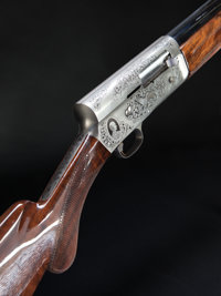 **Cased 12 Gauge Browning Classic One of 5000 A-5 Semiautomatic Shotgun