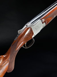 *Cased 12 Gauge Browning Pigeon Grade Superposed Shotgun
