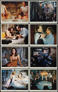 "The Cincinnati Kid (MGM, 1965). Color Photo Set of 8 and B&W Photos (5) (8"" X 10""). Drama. ... (Total:..."