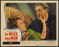 """Movie Posters:Drama, Of Mice and Men (United Artists, 1939). Lobby Card (11"""" X 14""""). Drama.. ..."""